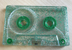 green glitter tape